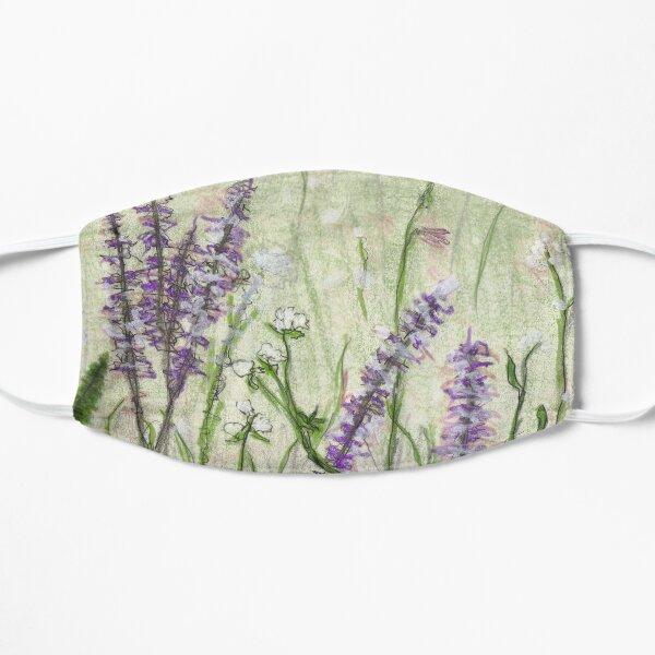 Flower Meadow Flat Mask