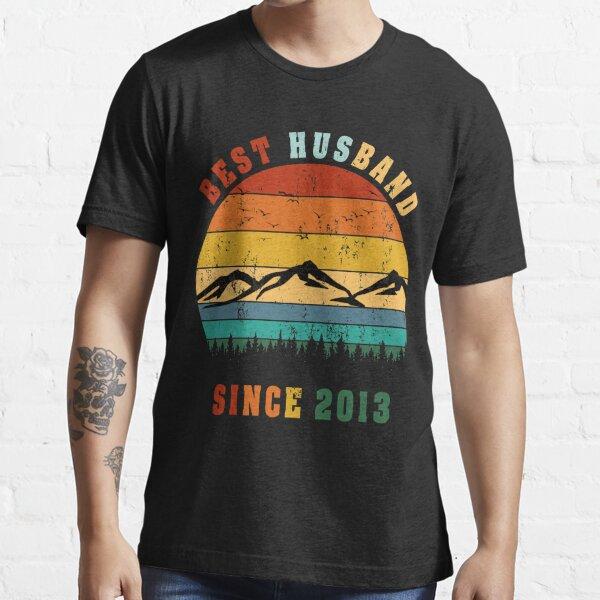 Best Husband Since 2013- Wedding Anniversary Celebration 2013 Essential T-Shirt Essential T-Shirt