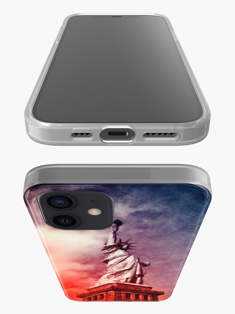 Alternate view of Patriotic Statue of Liberty iPhone Case & Cover