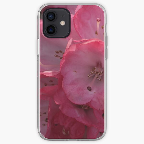 Rhododendron in Pink iPhone Soft Case