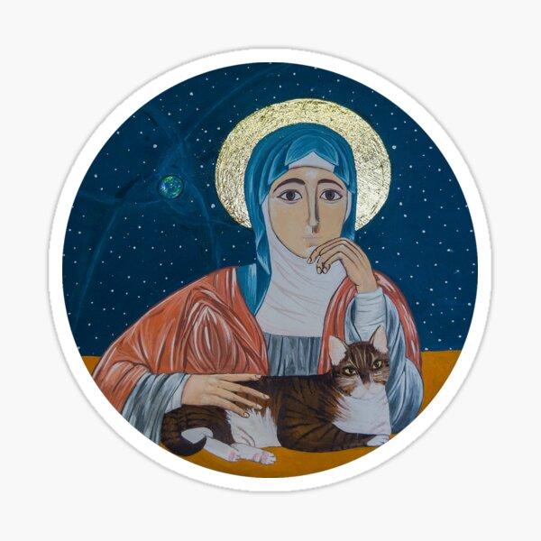 Julian of Norwich Icon Sticker