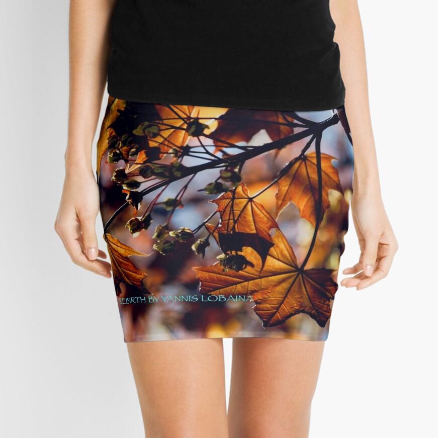 Rebirth  Mini Skirt