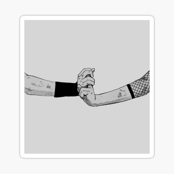 Signo de la mano de Shinobi Pegatina