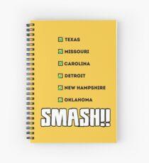 Cuaderno de espiral ¡¡APLASTAR!!