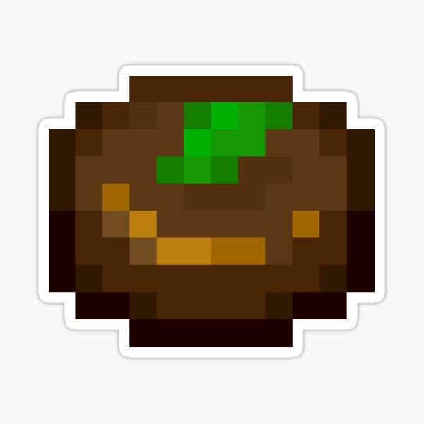 Mint Pixel Cookie Sticker