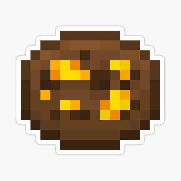 Toffee Pixel Cookie Sticker