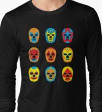 Lucha Libre • Mexican Wrestling Pop Masks T-Shirt