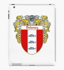 Delaney Coat of Arms/Family Crest iPad Case/Skin