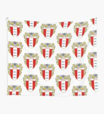 Delaney Coat of Arms/Family Crest Wall Tapestry
