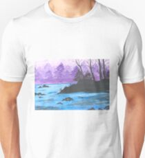 River Landscape of China. T-Shirt