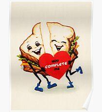 Sandwich Valentine Poster