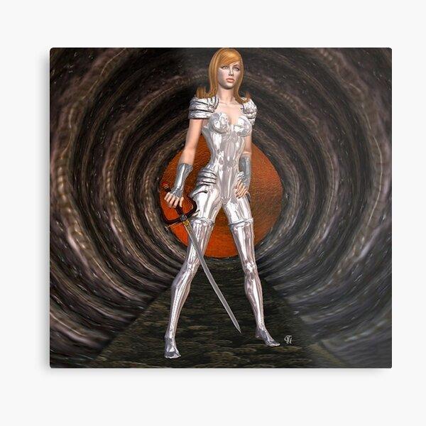 Silver Lady.... Metallbild
