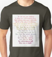 William Martin Poem T-Shirt