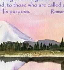God's Promises - Romans 8:28 Sticker
