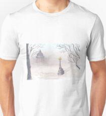 Beautiful winter scenery Unisex T-Shirt