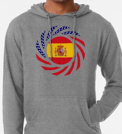 Spanish American Multinational Patriot Flag Series Lightweight Hoodie