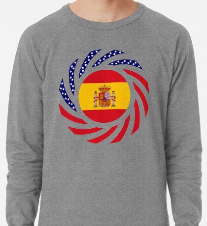 Spanish American Multinational Patriot Flag Series Lightweight Sweatshirt