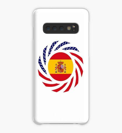 Spanish American Multinational Patriot Flag Series Case/Skin for Samsung Galaxy