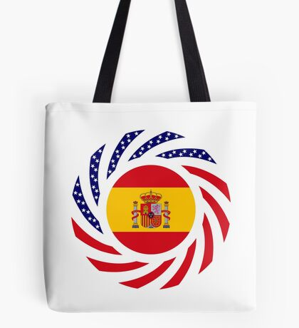 Spanish American Multinational Patriot Flag Series Tote Bag