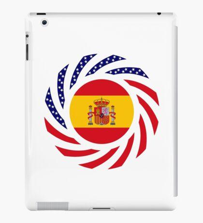 Spanish American Multinational Patriot Flag Series iPad Case/Skin