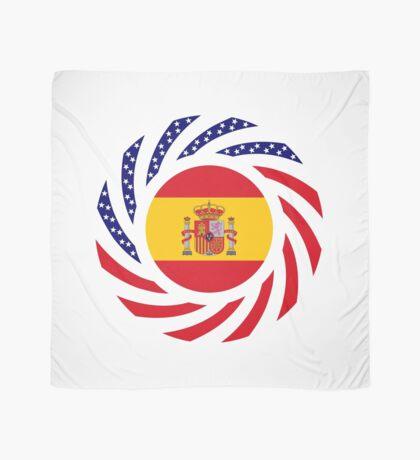 Spanish American Multinational Patriot Flag Series Scarf