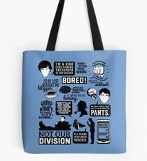 I'd Be Lost Without My Blogger Tote Bag