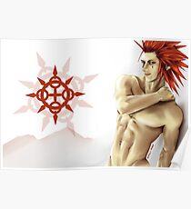 Axel Kingdom Hearts Poster