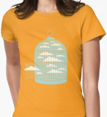 Free as a Bird Womens Fitted T-Shirt