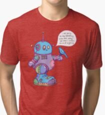 I was going to say something cute and witty...  Tri-blend T-Shirt