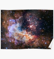 Hubble's 25th Birthday Gift to Us! Poster