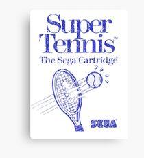 Super Tennis - Sega Master System Canvas Print
