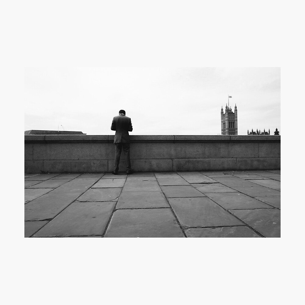 ALBERT EMBANKMENT, LONDON - 2013 Photographic Print