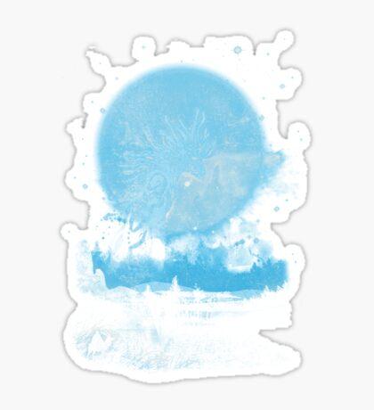 night walkers Sticker