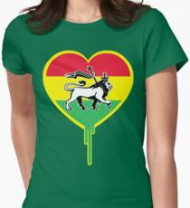 RASTA BLEEDING HEART T-Shirt