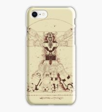 Voltruvian Man iPhone Case/Skin