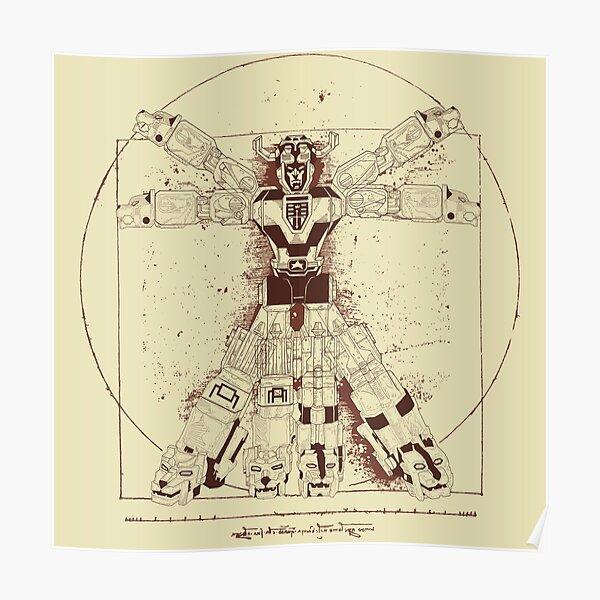 Voltruvian Man Poster