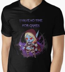 Sylvanas - No time for games Men's V-Neck T-Shirt