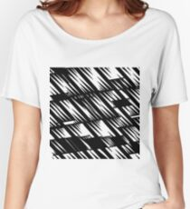 Spikes black Women's Relaxed Fit T-Shirt
