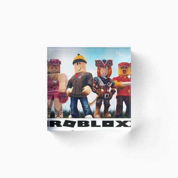 Roblox game Acrylic Block