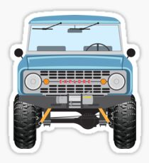 Ford Bronco (blue) Sticker