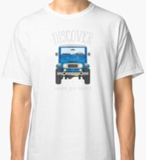 Discover Where You Belong (blue) Classic T-Shirt