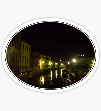 Venice Through a Broken Camera Sticker