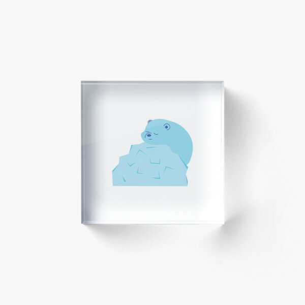 ice bear Acrylic Block