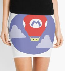 Mario Super Mushroom Air Balloon Mini Skirt