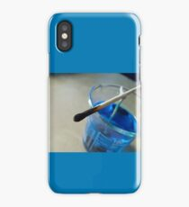 Copper Sulphate Corner iPhone Case/Skin