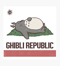 Ghibli Republic Photographic Print
