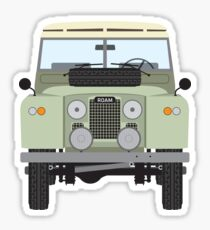 Land Rover (green) Sticker