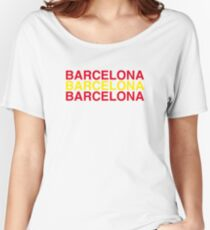 BARCELONA Women's Relaxed Fit T-Shirt