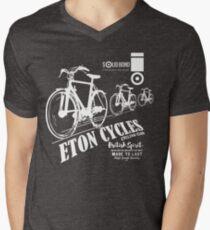 IN A JAM ETON CYCLES Men's V-Neck T-Shirt