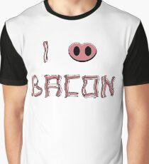 I love bacon Graphic T-Shirt